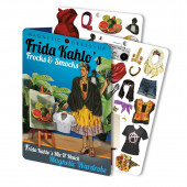 Magnetische Dress-Up - Frida Kahlo