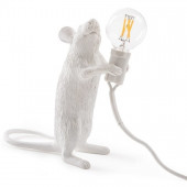 Lamp Muis - Staand & Wit
