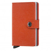Mini Wallet Secrid - Crisple Orange