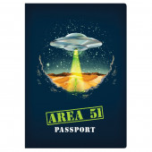 Notitieboek - Area 51 Passport