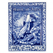 Schiffmacher Royal Delft  Blue Tattoo - Applique - Rock of Ages