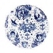 Schiffmacher Delft  Royal Blue Tattoo -  Bord Love