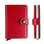 Mini Wallet Secrid - Red Lipstick