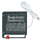 Mok Opwarmer - Book Lover