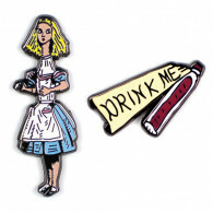 Pins - Alice And Drink Me