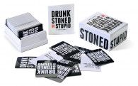 drunk, stoned stupid party game