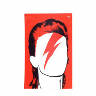 Tea Towel - Bowie Red