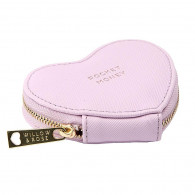 Heart Coin Purse - Pocket Money (Lilac)