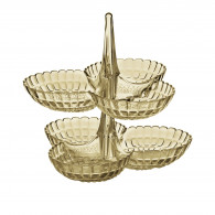 Guzzini Set of 2 Hors d'Oeuvres Dishes - Sand