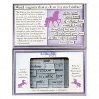Magnetic Poetry - Unicorn Lover